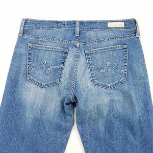 AG Adriano Goldschmied Straight Leg Denim Jeans